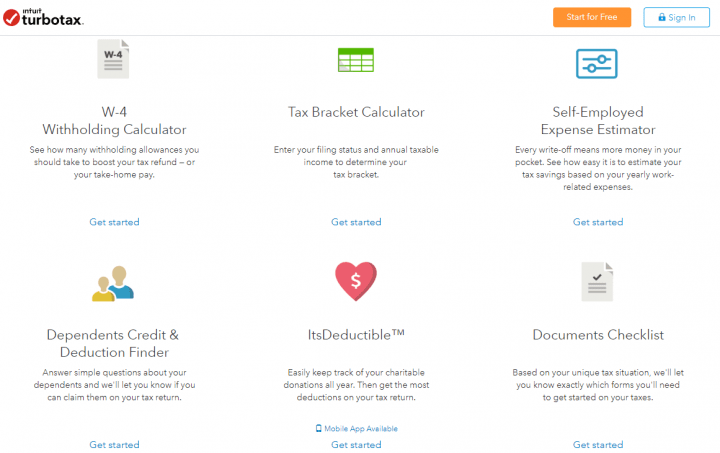 Additional TurboTax Support Tools